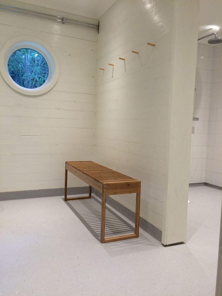 Sauna area - Sågarbo herrgård