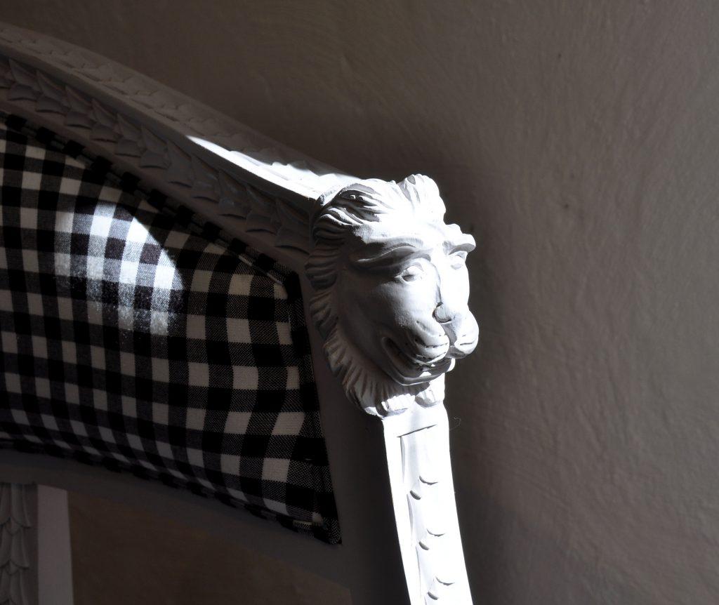 sågarbo herrgård lounge chair gustavian style