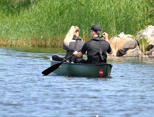 Paddle and enjoy an Unesco biosphere reserve at Sågarbo herrgård